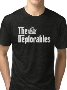 The Basket of Deplorables Tri-blend T-Shirt