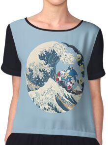 Sonic the Hedgehog - Hokusai Chiffon Top