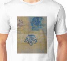 VW Bug Painting Blueprint Unisex T-Shirt