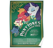 PonyTones - Find the Music Tour Poster