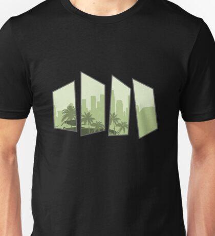 San Andreas Based Design  Unisex T-Shirt