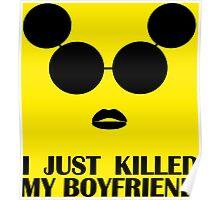 Lady Gaga - I Just Killed My Boyfriend Poster