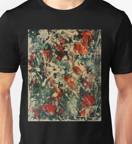 Abstract Green & Red Unisex T-Shirt