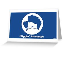 the IT crowd moss flippin' awesome phone case Greeting Card