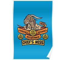 Chief's Mess Poster
