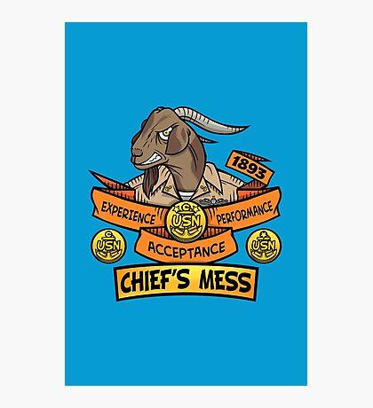 Chief's Mess Photographic Print