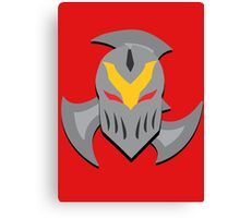 Zed Mask and Shuriken Canvas Print