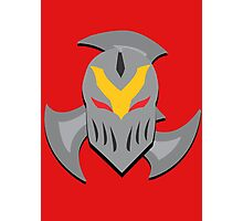Zed Mask and Shuriken Photographic Print