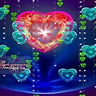 bleeding crystal hearts by LoreLeft27