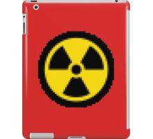 PIXELATED Nuclear Logo iPad Case/Skin