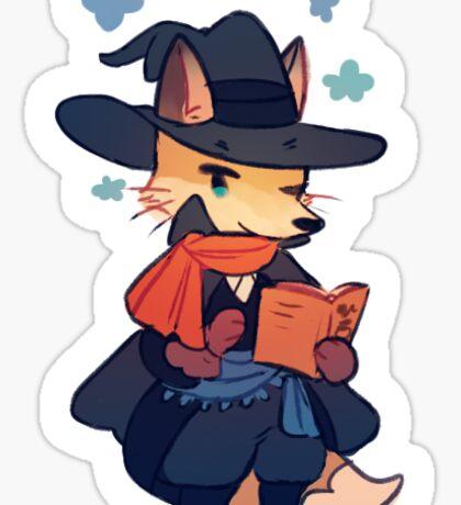 Sticker - fox mage Sticker