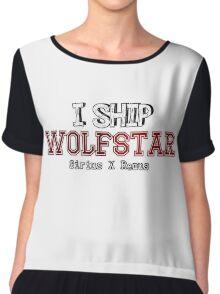I Ship wolfstar Chiffon Top