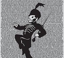 Black Parade Lyric Print by graphicdisaster