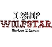 I Ship wolfstar Photographic Print