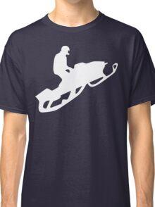 snowmobile : silhouettes Classic T-Shirt