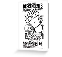 Old Descendents Flyer Greeting Card