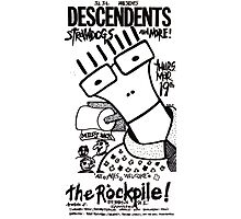 Old Descendents Flyer Photographic Print