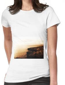 Seaside Sunset Womens Fitted T-Shirt