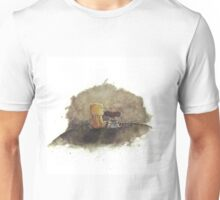 Sitting at the Edge of the World Unisex T-Shirt