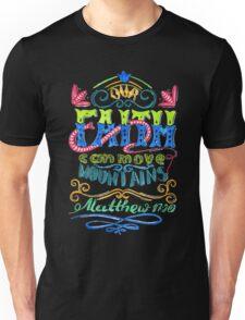Words about God, faith.  Unisex T-Shirt