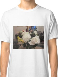 White Flower Bouquet Classic T-Shirt