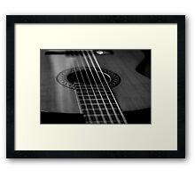 Guitar... Framed Print