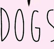 I Love Dogs Sticker