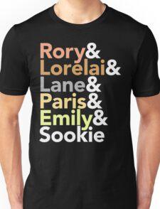 Gilmore Girls Helvetica Unisex T-Shirt