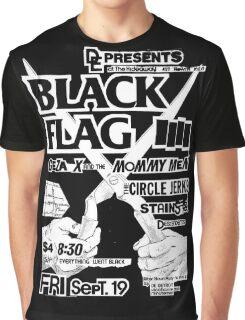 Old Black Flag Flyer Graphic T-Shirt