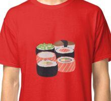 Set of different Sushi rolls Classic T-Shirt