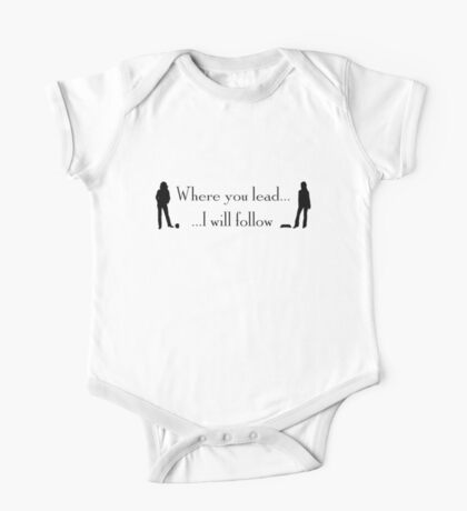 """""""Where You Lead…"""" – Gilmore Girls Design One Piece - Short Sleeve"""