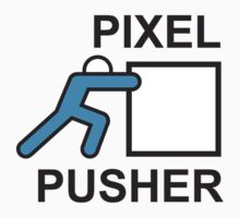 PIXEL PUSHER Kids Tee