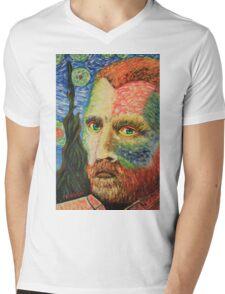 Vincent Van Gogh #1 Mens V-Neck T-Shirt
