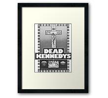 Old Dead Kennedys Flyer Framed Print