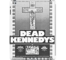 Old Dead Kennedys Flyer iPad Case/Skin