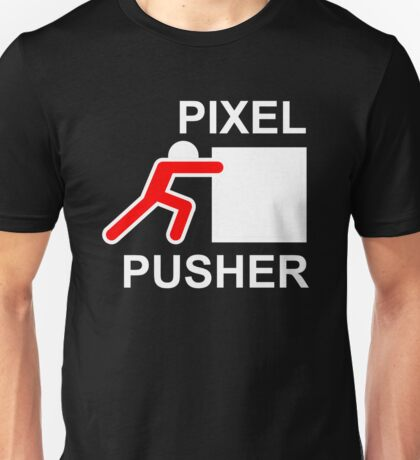 PIXEL PUSHER - Alternate Unisex T-Shirt