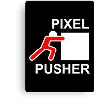 PIXEL PUSHER - Alternate Canvas Print