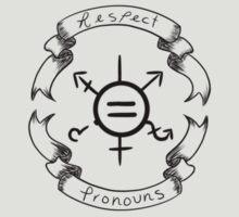 Respect Pronouns  by Goatsan