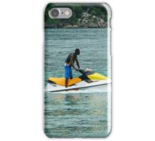 Jet - Skiing in the Caribbean iPhone Case/Skin