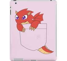 Red pocket Dragon iPad Case/Skin