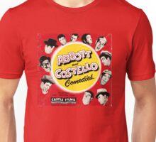 Abbott and Costello Comedies Unisex T-Shirt