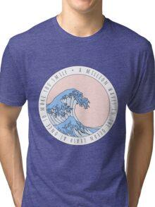 Wave Song Lyrics Tri-blend T-Shirt