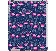 Bright pattern flamingos iPad Case/Skin