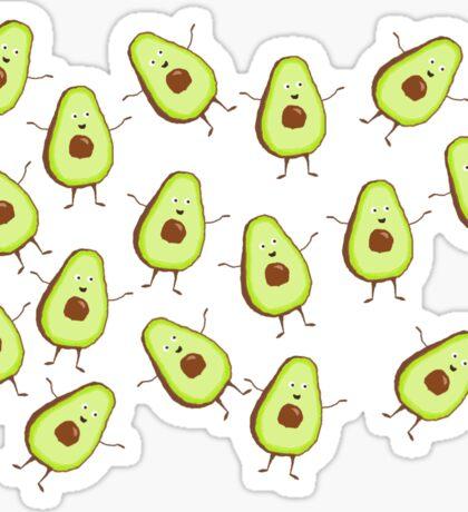little avocados pattern Sticker
