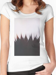 Evening Mood Women's Fitted Scoop T-Shirt