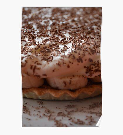 Pie Dessert - Banoffee Pie Poster