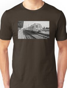 Just a train at the railway station Unisex T-Shirt