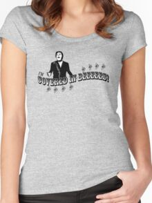 I'm COVERED IN BEES! Women's Fitted Scoop T-Shirt