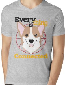 Everything is Connected Mens V-Neck T-Shirt