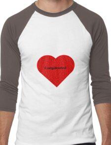 Complicated  Men's Baseball ¾ T-Shirt